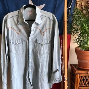 Lucky Brand Western Pearl-Snap Shirt